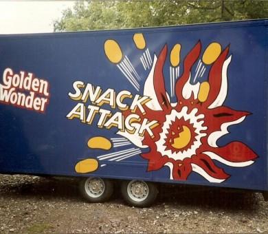 Golden Wonder Trailer Livery