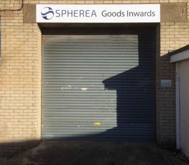 Goods Entrance i