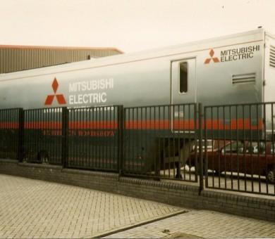 Mitsubishi Trailer Livery