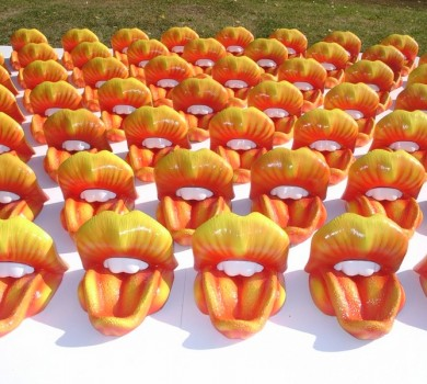 Rolling Stones Table Mouths