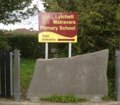 School Signage Matravers