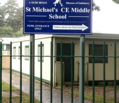 School Signs Wimborne