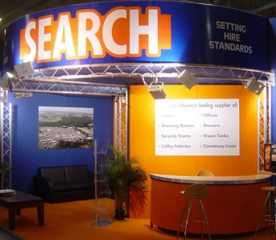 Search Exhibition Signage