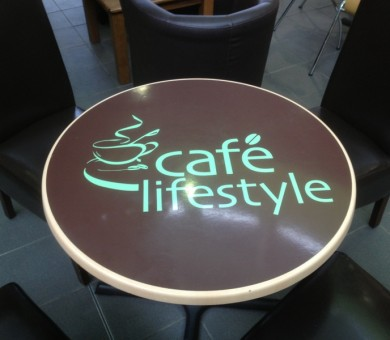 Vinyl Graphics for Tables