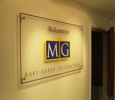 marygober Reception Signage