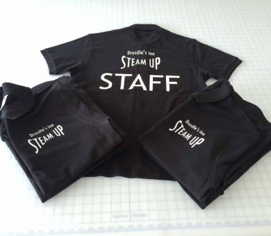 staff printed uniform