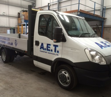 AET Flat Bed Livery
