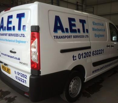 AET Van Livery