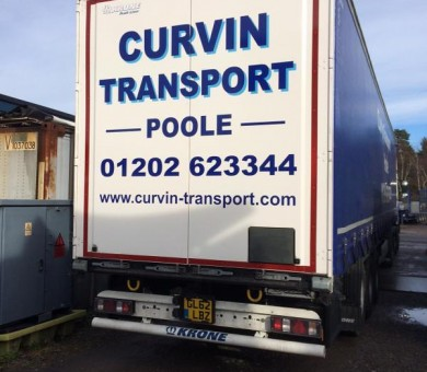 Curvin Lorry Livery