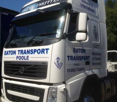 Truck Sign Writing Poole
